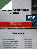 Sistem Komunikasi Digital-II