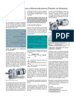 Motoreductores Siemens