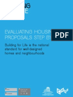 Evaluating Housing Proposals Step by Step