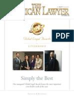 The American Lawyer Global Legal Awards Global Citizenship Award