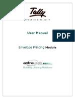 User Manual - Envelope Printing Module