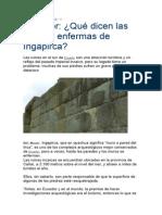 Piedras de Ingapirca Ecuador