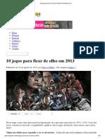 10 Jogos Para Ficar de Olho Em 2013 _ NerdGamer