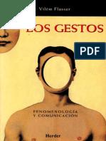 Los Gestos - Vilém Flusser