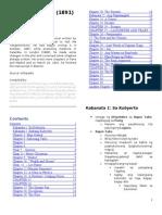 El Filibusterismo Chapter Summaries