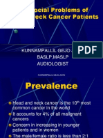 Psycho Social Problems of Head & Neck Cancer Patients