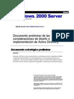 Manual Basico en español - Directorio Activo Windows 2000 Server