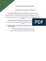 Prononciation Verbes Present