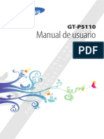Manual de Usuario Tablet Samsung GT-P5110