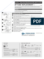 Stenner BDF Series Peristaltic Metering Pump Manual QuickPro Addendum