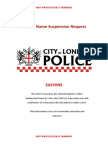 City of London UK Takedown request to easyDNS