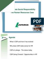 CSR & HR