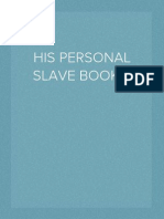 His Personal Wife/Slave BOOK 2