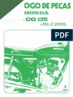 CG 125 Álcool 81 - Catálogo de Peças
