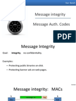 Integrity Message Authentication Codes
