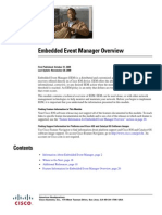 Embedded Event Manager Overview