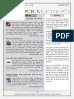 India Transport Portal Newsletter - September 2013