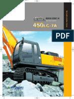 Escavadora de Oruga - R450LC-7A