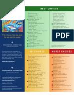 EDF Pocket Seafood Selector