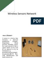 Wireless Sensors Network Presentation
