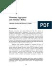 Monetary Aggregates and Monetary Policy