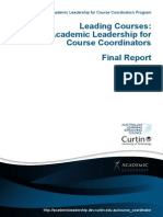 LE64 Academic Leadership for Course Coords Final