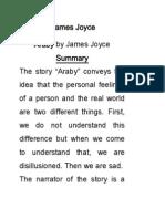 Araby by James Joyce.docx
