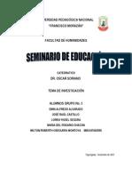 Seminario de Educación editado