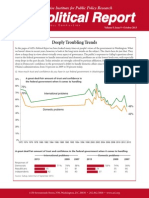 Deeply Troubling Trends on Attitudes Towards Government, AEI Political Report October 2013