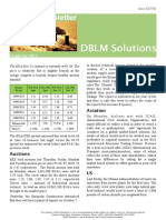 DBLM Solutions Carbon Newsletter 25 Sep