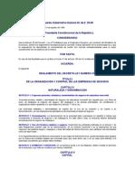 Acuerdo Gubernativo Número 25-69 REGLAMENTO DEL DECRETO-LEY NÚMERO 473 Ley de Empresas de seguros