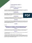 ACUERDO MINISTERIAL NUMERO 1-71 Reglamento para el Trámite y control de Autorizaciones para la Contratac