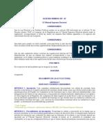 ACUERDO NÚMERO 181-87 REGLAMENTO DE LA LEY ELECTORAL