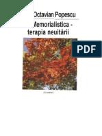 Memorialistica-terapia neuitarii