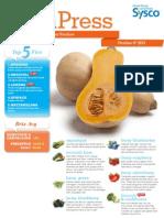 Sysco Fresh Press 10.4.13