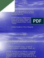 Características Físicas das Águas