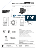 Stenner Classic 45 Series Peristaltic Metering Pump Spec Sheet