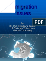 Immigration Issues II .ppt