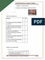 rbricas y evaluaciones