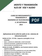 Procesamiento de Senales Audio 2013 2