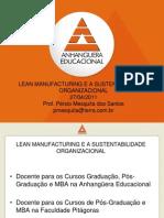 Slides 27-04-2011 Lean Manufacturing Sustentabilidade Organizacional