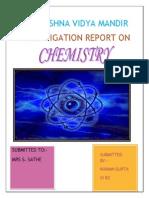 Chemistry Project file school work