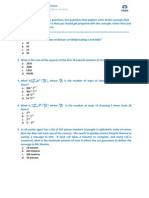 Sample Placement Paper Question TCS