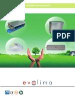 Catalog Ventiloconvectoare EVOCLIMA
