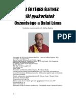Dalai Lama Ut Az Ertekes Elethez
