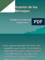 Clasificación de los Mensajes pubicos internos y externos.ppt