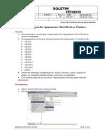 Boletim de Autenticação de Aficios no Windows - Versao AF