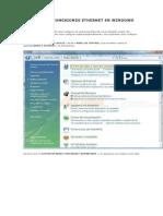 Configurar Conexiones Ethernet en Windows Vista