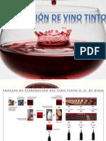 Produccion de Vino Tinto