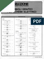 Simboli Grafici Per Schemi Elettrici (Radio Tv Hifi Elettronica)